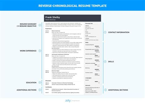 chronological resume template 20 exles complete guide