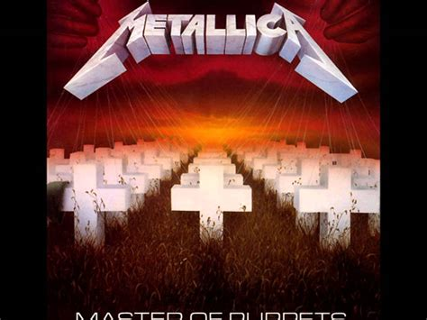 Master Of Puppets Metallica Master Of Puppets Album