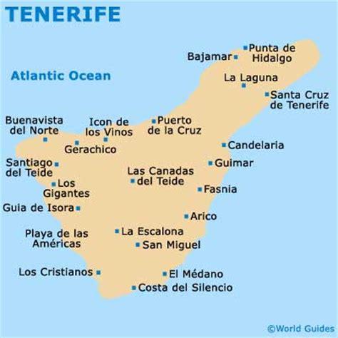 tenerife on world map image gallery island map of tenerife