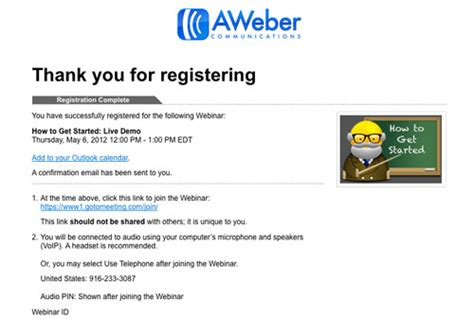 thank you for registering email template thanks for registering email marketing tips
