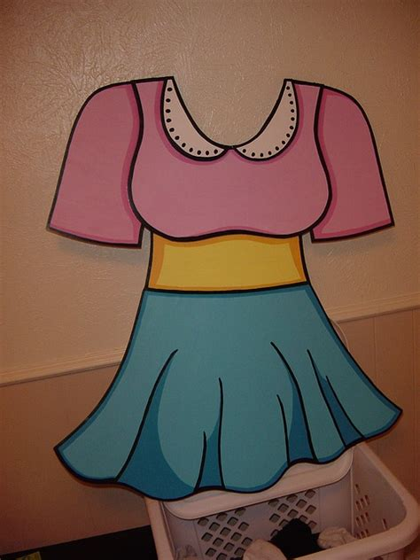 How To Make A Paper Doll Costume - paper doll costume