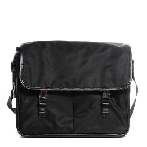 Prada And Marmot Fur Messenger Bag by Prada Fox Fur Messenger Bag Prada Tote Bag In Pelle Nera