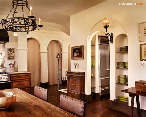 desain interior rumah gaya mediterania arsitektur bergaya mediterania salah satu gaya
