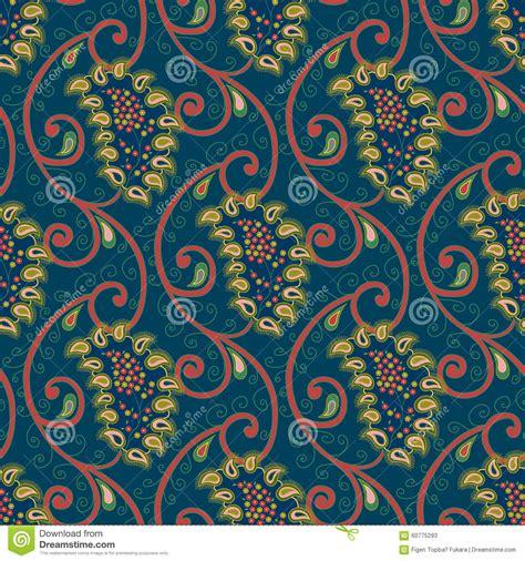 paisley pattern wallpaper vector seamless vector floral paisley pattern stock vector