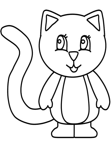 Kitten Coloring Pages Coloring Pages To Print Kittens Colouring Pages