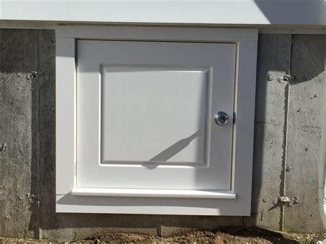 Interior Crawl Space Door Custom Built Crawl Space Access Door Charlies Custom Carpentry Pinterest Crawl Spaces