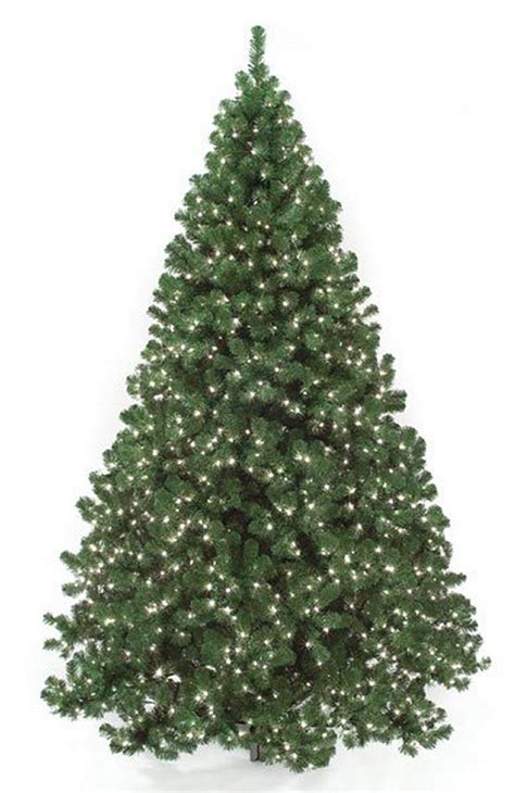 full size artificial christmas trees with or without