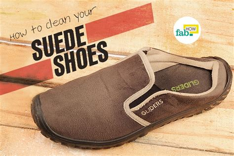 how to clean beige suede shoes at home style guru