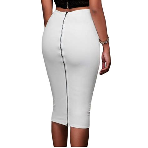 popular zip tight pencil skirt skirt buy cheap zip tight