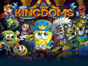 nickelodeon kingdoms strategy game