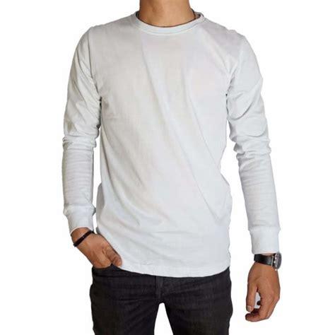 Kaos Lengan Panjang Stussy Premium kaos baju polos putih premium lengan panjang naga