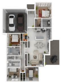 Home Design 3d Save by Purple 3d House Floor 3d Modern House Floor Plans Modern