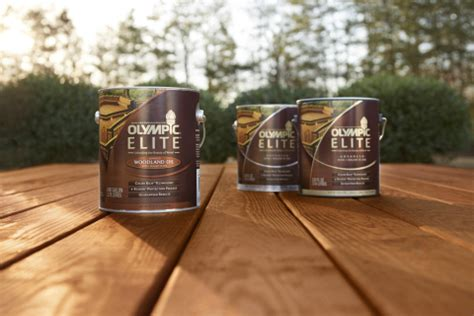 olympic stain launches super premium olympic elite