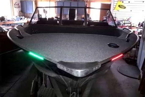 boat lights bow bow led light kits bass boat nav lighting systems