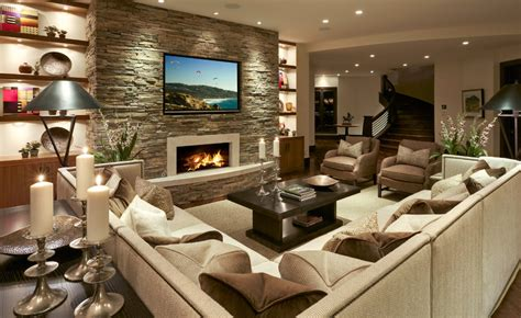 basement designs mountain modern decor decosee com