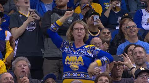 golden state warriors fans golden state warriors fan returns when america