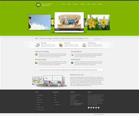 business html template ebiz corporate and business html template by imediapixel