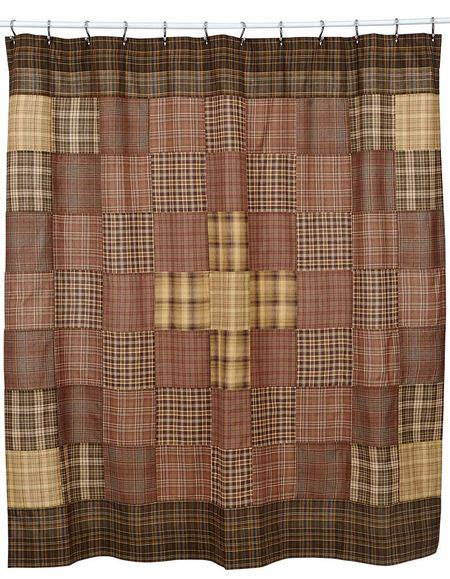 masculine bathroom shower curtains country primitive shower curtains from the patch
