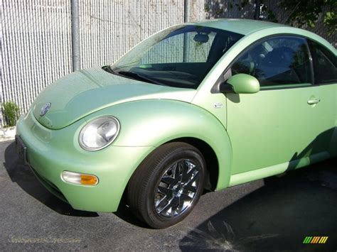 green volkswagen beetle volkswagen metallic green images