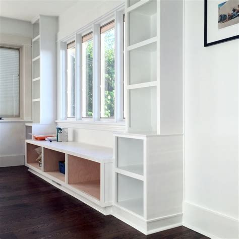 built in window seat window seat and built ins reveal befores middles and