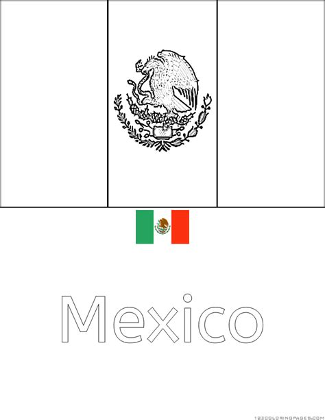 country flags coloring pages part 8
