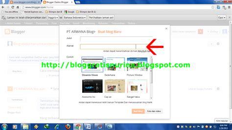 membuat blog dengan xp cara kedua membuat blog dengan panduan gambar