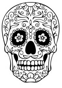 sugar skull coloring pages sugar skull coloring pages coloring style free fresh
