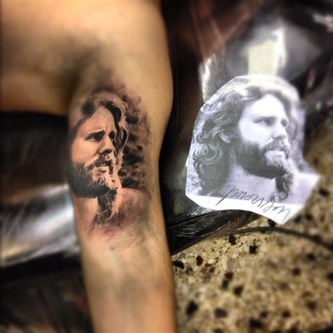 love this jim morrison tattoo inner arm the doors