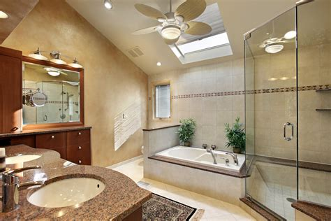 Bathroom Vaulted Ceiling Lights 127 Luxury Custom Bathroom Designs