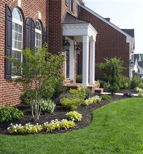 gorgeous front yard landscaping ideas  front door