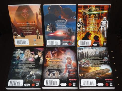 libro star wars the last set de 6 libros de star wars 750 00 en mercadolibre