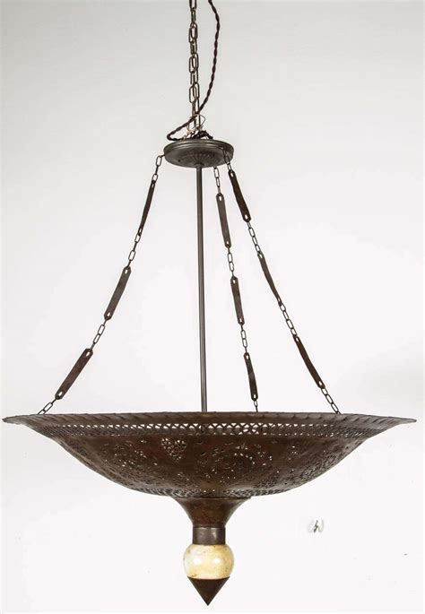 Moroccan Hanging Metal Chandelier At Moroccan Hanging Metal Chandelier At 1stdibs