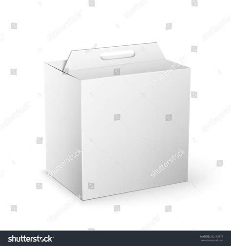 square cardboard box stock images image 29889354 white product cardboard square package box illustration