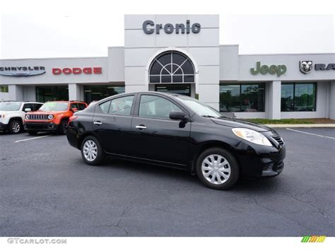 2014 nissan versa 1 6 s 2014 black nissan versa 1 6 s sedan 107379865 photo