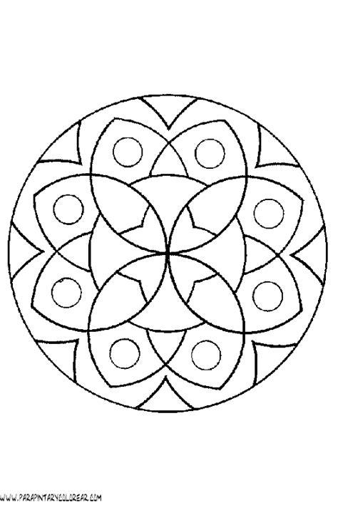 imagenes de mandalas simples para colorear 19 mandalas simples para pintar mandalas para colorear