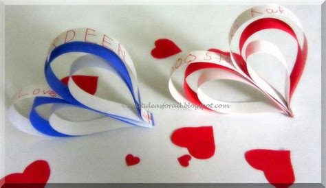 craft with paper strips craft ideas for all s day paper strips