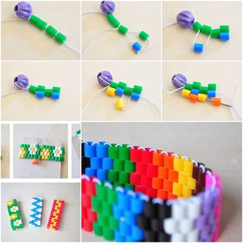 How To Make A Paper Wristband - how to make colorful bracelet step by step diy tutorial
