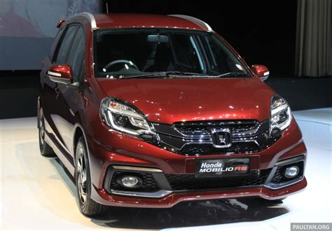 Spion Honda Mobilio Rs honda mobilio rs range topper launched in indonesia image 255005