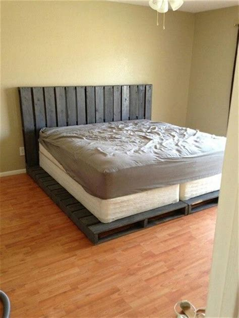 diy pallet bed 10 diy beds made out of pallets wooden pallet furniture