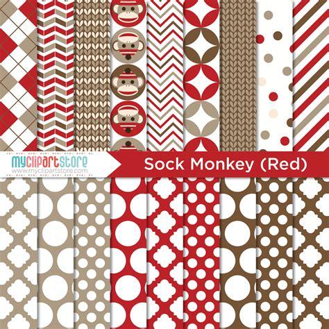 sock monkeys clipart combo premium vector clipart