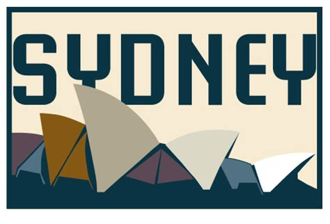 sydney luggage sticker by isthenewblack on deviantart