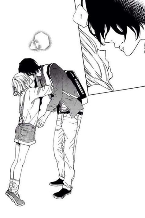 anime couple tall guy short girl short girl and tall guys type of relationship its