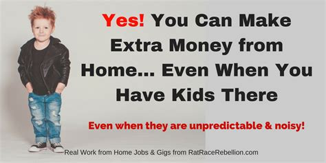 that you can work from home yes you can make money when you at home