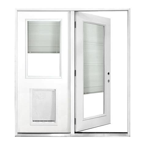Double Patio Doors With Built In Blinds Lou Bout