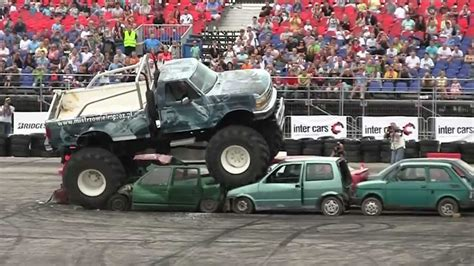 next monster truck show maluch vs monster truck youtube