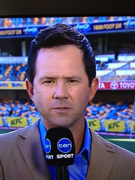ricky ponting hair ricky ponting dyed hair australia sweats on lee fitness