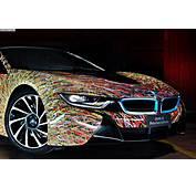 BMW I8 Futurism Edition Art Car Feiert 50 Jahre Italia