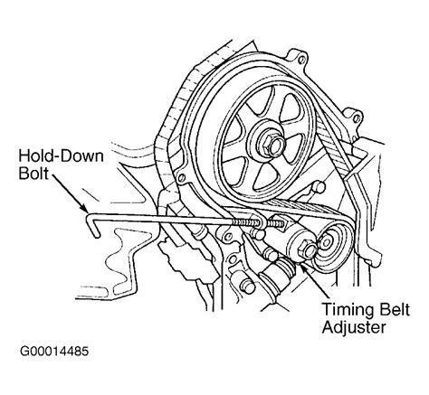 2002 Acura Mdx Serpentine Belt Diagram