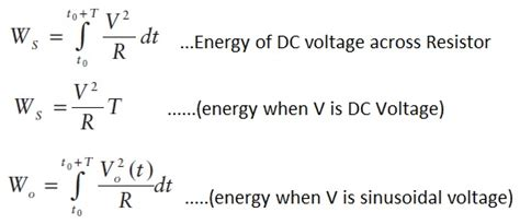 resistor power and energy power vs energy difference between power and energy