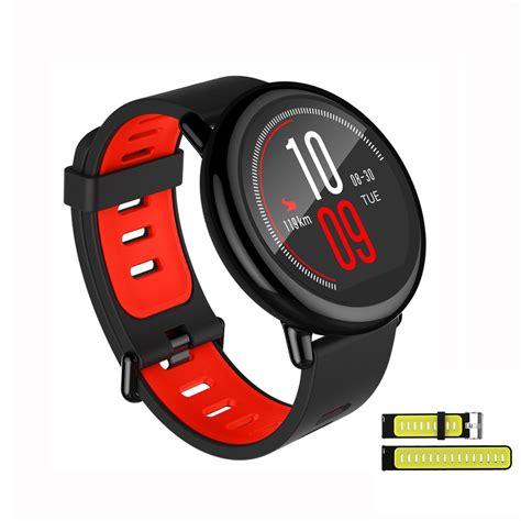 Xiaomi Amazfit Smartwatch Classic Sport Band Silicone Band xiaomi huami amazfit smart black replacement black green